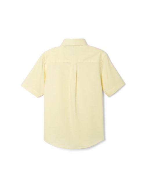 French Toast Husky Boys School Uniform Short Sleeve Oxford Shirt (Husky)