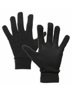 Touch Screen Running Gloves for Men & Women - Thermal Winter Glove Liners for Texting, Cycling & Driving - Thin & Lightweight Warm Hand Gloves - Touchscreen Smartphone Co
