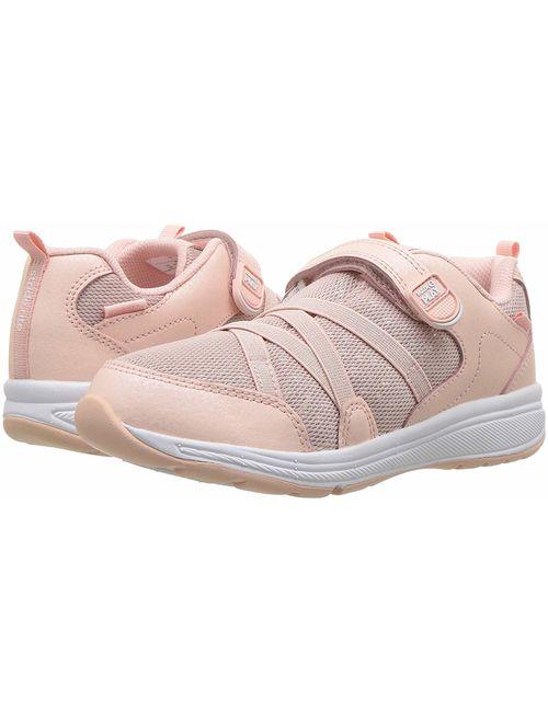 Kids Stride Rite Girls M2P Emmy Big Kid Leather Low Top Walking Shoes