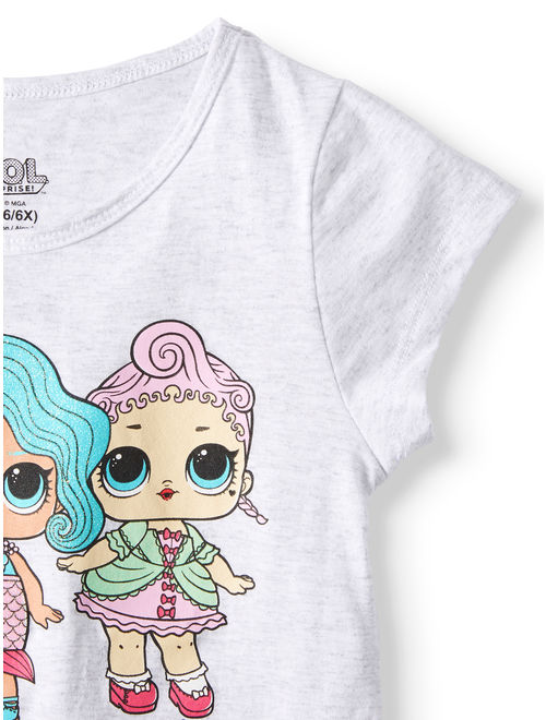 MGA L.O.L. Surprise! Doll Glitter Graphic T-Shirt (Little Girls & Big Girls)