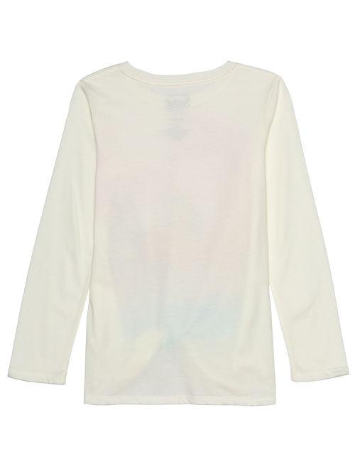 Spirit Riding Free Twist Front Long Sleeve Graphic T-Shirt (Little Girls & Big Girls)