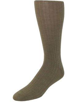 Windsor Collection Merino Wool Over the Calf Dress Socks (Men's)
