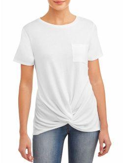 Women's Twist Hem T-shirt