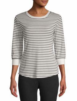 Women's 3/4 Rib Sleeve T-shirt