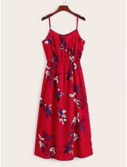 Floral Print Cami Dress