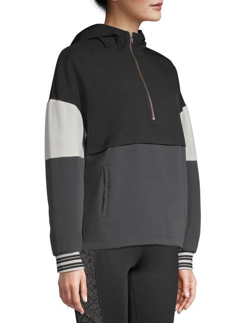 Avia Women's Athleisure Colorblock Pullover Hoodie