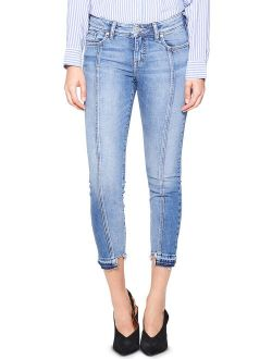 Silver Jeans Co. Womens Aiko Skinny Mid-Rise Ankle Jeans