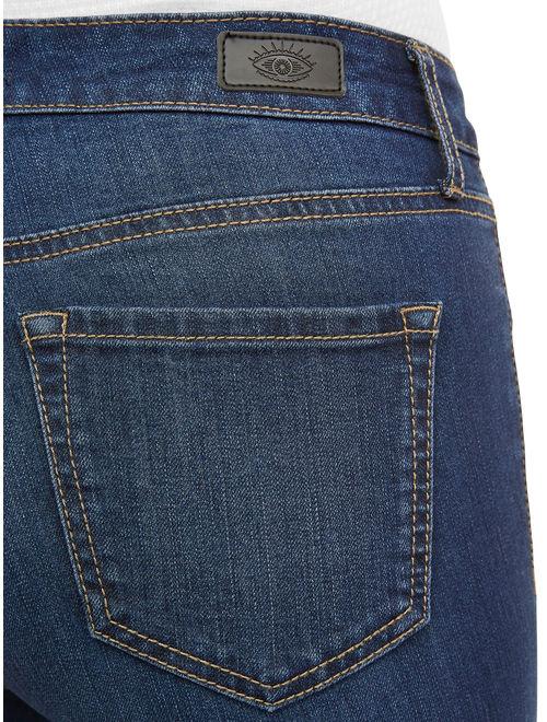 Sofia Jeans by Sofia Vergara Sofia Skinny Mid Rise Stretch Ankle Jean Women's (Dark Wash)