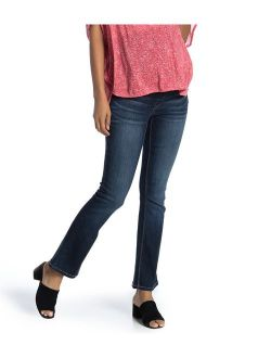 Womens Bootcut Maternity Stretch Jeans 28