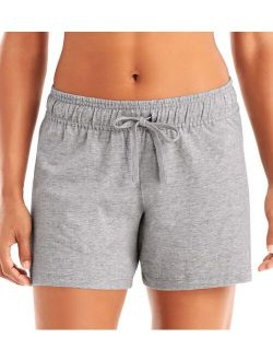 Authentic Women's Jersey Short, Oxford Grey - M