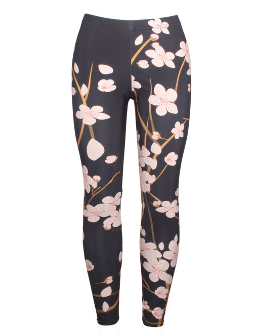 LELINTA Womens Girls Kint Popular Best Printed Fashion Leggings Pattern High Elastic Tights Pantes Leggings Size S-4XL