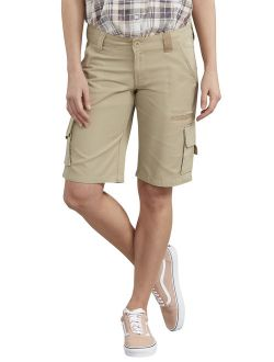 """Women's 11"""" Relaxed Fit Cotton Cargo Short"""
