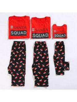 Family Matching Adult Women Kids Christmas Pyjamas Nightwear Pajamas PJs Sets