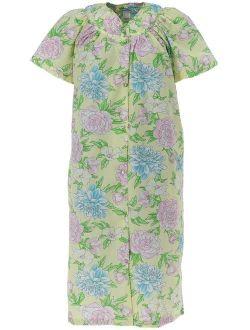Elegant Emily Snap Front Short Sleeve Duster Robe (Women's)