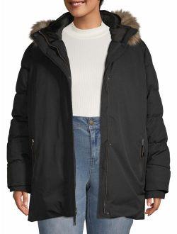 Women's Plus Size Heavyweight Parka Jacket