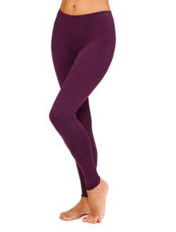 Women's And Women's Plus Stretch Microfiber Warm Underwear Legging