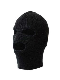 MO8270, 3 Holes Premium Knitted Winter Ski Mask (One Size Fits Most)