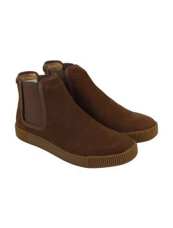 Michael Bastin Lyons Chelsea Mens Brown Suede Casual Dress Boot Shoes