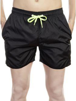 Mens Casual Swim Shorts Beachwear Swim Trunks Swimwear Underwear Swimsuit Board Shorts With Pockets Beach Pants Quick Dry Swimming Surfing Bathing, Black, M-2xl