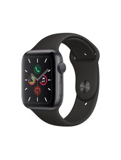 Watch Series 5 Gps, 44mm Space Gray Aluminum Case With Black Sport Band - S/m & M/l