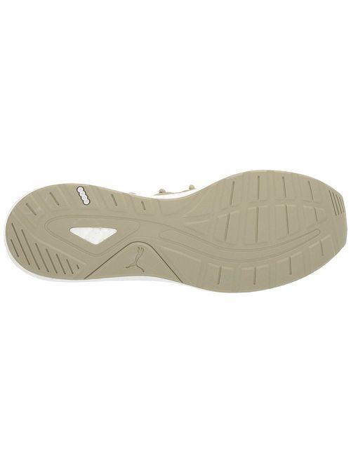 Puma Nrgy Neko Knit Running Shoe - 11.5M - Elm / Orange Pop