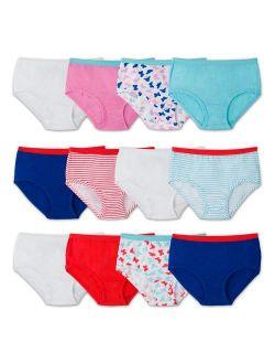 Girls' Big Cotton Brief Underwear (discontinued)