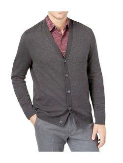 Mens Supima Cotton Cardigan Sweater