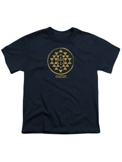 Bsg - Gold Squadron Patch - Youth Short Sleeve Shirt - Medium