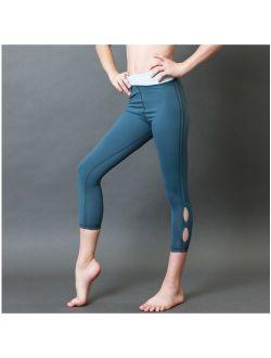 Veva by Very Vary Girls Blue Grey Capri Leggings