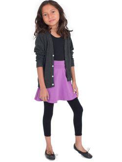 Vivian's Fashions Capri Leggings - Girls, Cotton