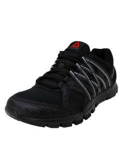 Men's Yourflex Train 8.0 Black / Ash Grey Ankle-high Training Shoes - 11m