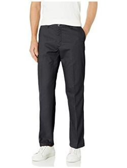 Men's Total Freedom Relaxed Classic Fit Flat Front Pant