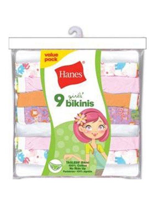 Hanes Girls' Bikini Multipack