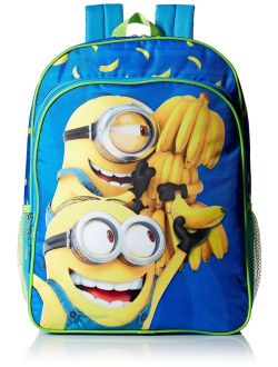 Despicable Me Boys' Universal Multi Compartment 16 Inch Backpack