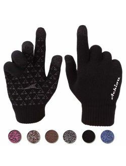Touchscreen Warm Thermal Soft Winter Knit Gloves For Women Men