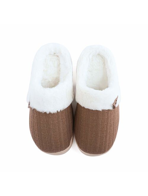 Slip on Fuzzy Slippers | Topofstyle