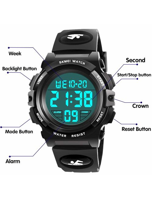 Dreamingbox Sports Digital Watch for Kids - Best Gifts