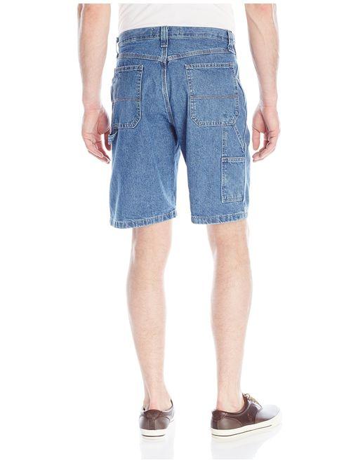 Wrangler Big Men's Denim Solid Relaxed Fit Carpenter Shorts