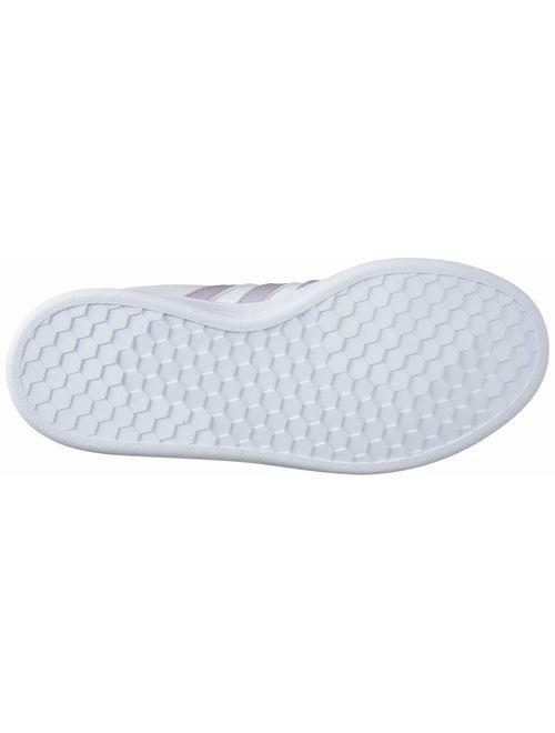 adidas Women's Lace Closure Grand Court Sneaker