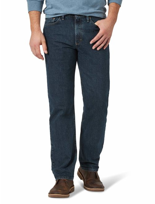Wrangler Men's Big and Tall Authentics Relaxed Fit Jean-Cotton