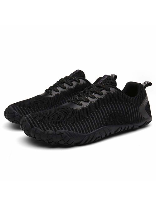 XIANV Men Women Minimalist Trail Running Barefoot Shoes Gym Walking Lightweight Hiking Beach Water Shoes Athletic Slip-On Shoes