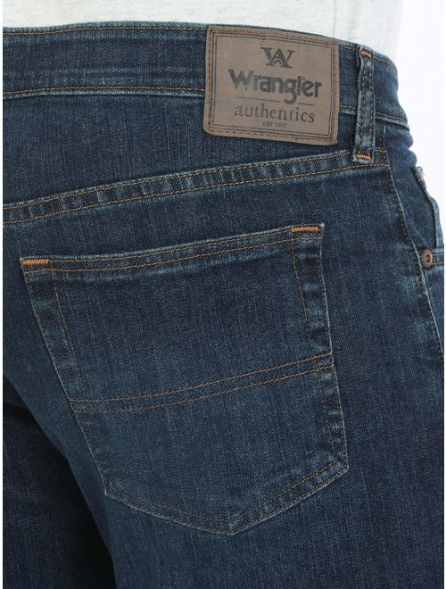 Wrangler Authentics Big and Tall Relaxed Fit Comfort Flex Waist Jean