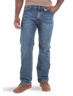 Authentics Big And Tall Regular Fit Comfort Flex Waist Jean