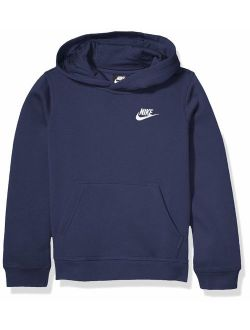 Boy's Nsw Pull Over Hoodie Club, Midnight Navy/white, Large