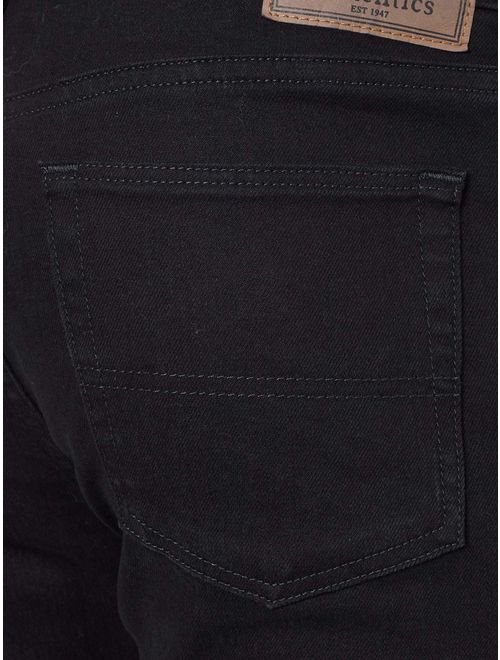 Wrangler Authentics Mens Classic Relaxed Fit Flex Jean