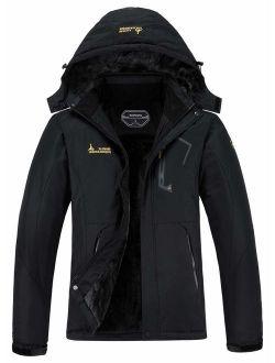 Waterproof Snow Hooded Ski Jacket