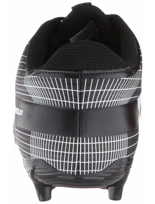 Under Armour Men's Speed Phantom MC Football Shoe, Black/White
