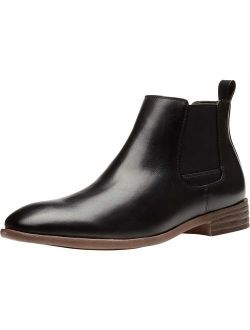 Men's Chelsea Boots Casual Elastic Ankle Boots Classic Dress Boots For Men