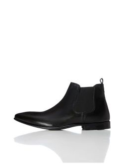 Amazon Brand - find. Men's Albany Formal Leather Chelsea Boots