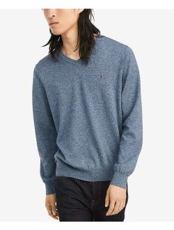 Men's Cotton V Neck Sweater